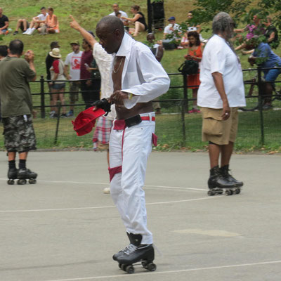 Rollschuh-Spaß im Central Park