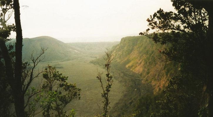 Krater des Kilauea - Big Island