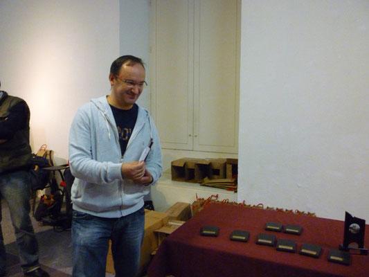 Pascal Séguier, vainqueur du tournoi.