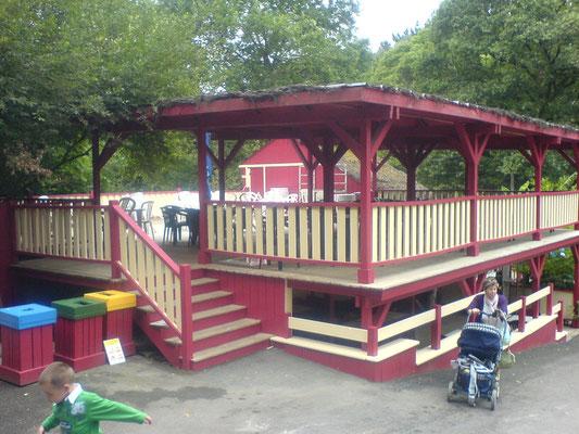 espace de restauration parc zoologique