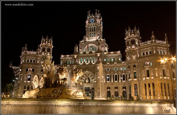 Edificio de Correos, Ayuntamiento de Madrid
