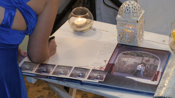 Libro de Firmas para bodas. Totalmente personalizados.