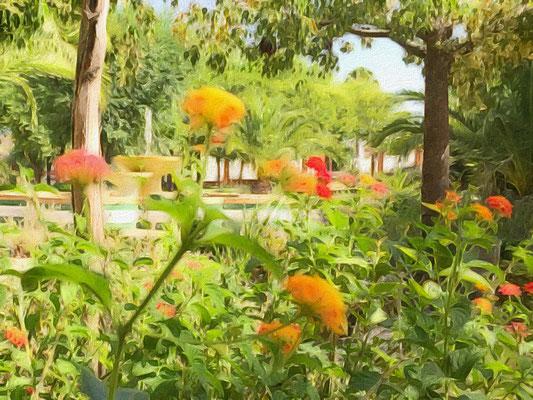 Parque de los Poetas, Salteras - Junio 2016 - Editada con #Brushstroke
