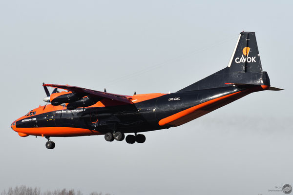 An-12 (UR-CKL)