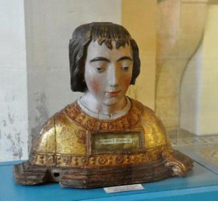 Buste reliquaire Hôtel dieu