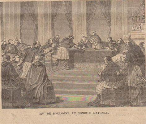 Mgr de Boulogne au Concile national