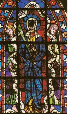 Vitrail de sainte Maure à la cathédrale