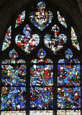 Vitrail de l'Arbre de Jessé (1510)
