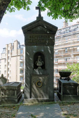 """Tombe de M.Chauchard au """"Père Lachaise"""""""