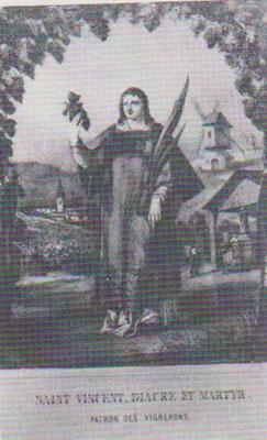 St Vincent diacre et martyr