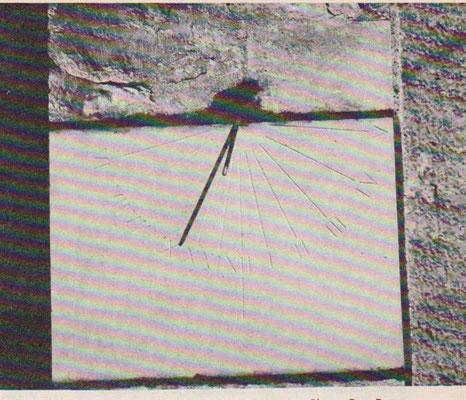 Cadran de l'église de Radonvilliers