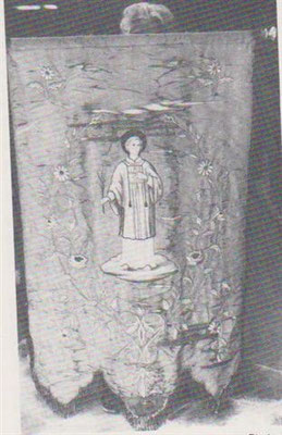 St Vincent  Bannière de Ricey-haut