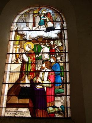 Saint Vorles sauve l'enfant
