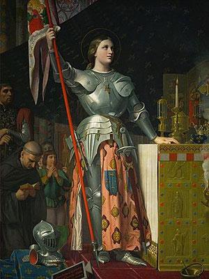 Jeanne d'Arc à la cathédrale de Troyes
