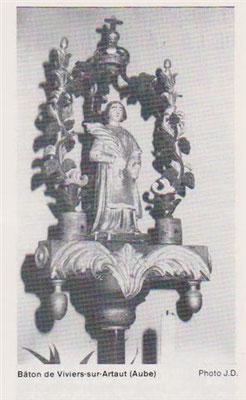 Bâton St Vincent Viviers-sur-Artaut
