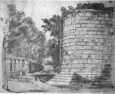 Fortifications de Troyes par Nicolas De Hault