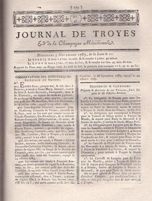 Journal de Troyes