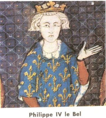 Roi Philippe le Bel