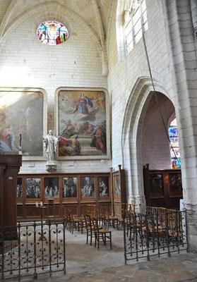 Tableaux de Jacques de Lestin (église Saint Rémy)