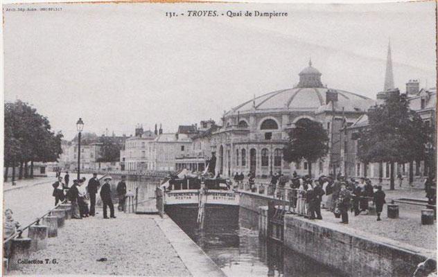 canal de la haute Seine, près du cirque