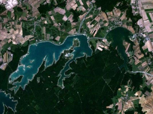 Lacs du Temple et Amance