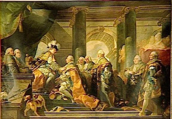 """Résultat de recherche d'images pour """"Louis XVI sur trône"""""""