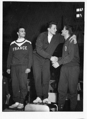 2ème  aux jeux mondiaux à Moscou 1957