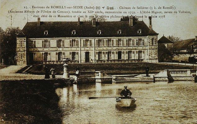 Abbaye de Scellières