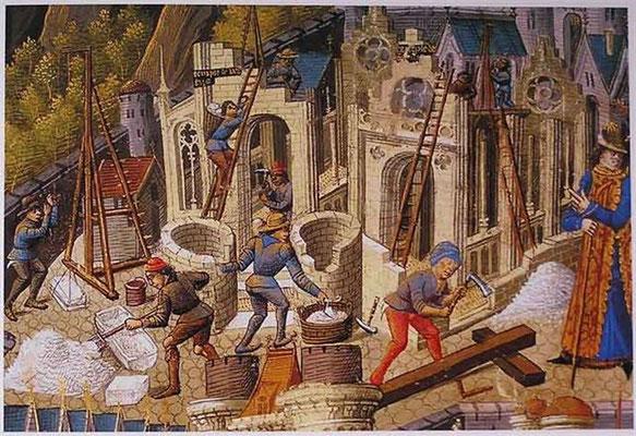 Construction cathédrale