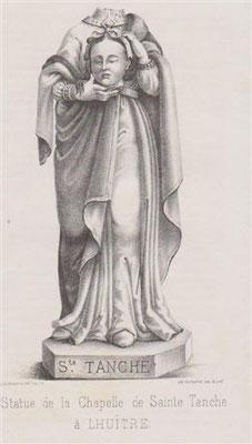 Statue de Sainte Tanche