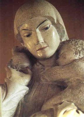 """Vierge à l'Enfant """"Rosa Mystica"""" (1951)"""
