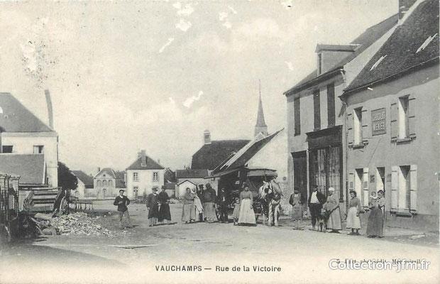 Rue de la Victoire à Vauchamps
