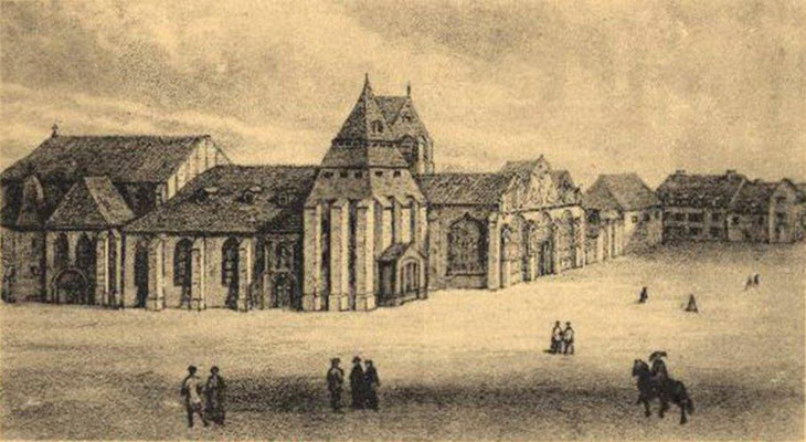 Abbaye ND aux Nomains