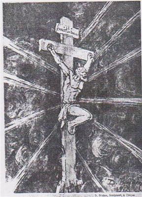 """"""" Le christ des Boches """" de D. Briden"""