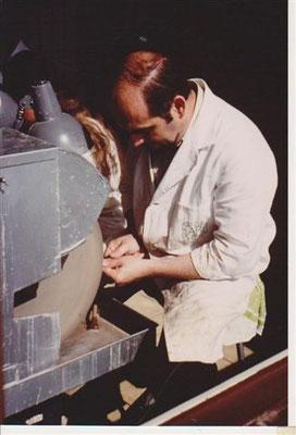 J-P. Chenet, taille de gemmes et minéraux