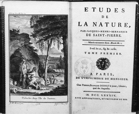 Etude de la nature