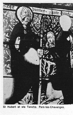 Vitrail Saint Hubert