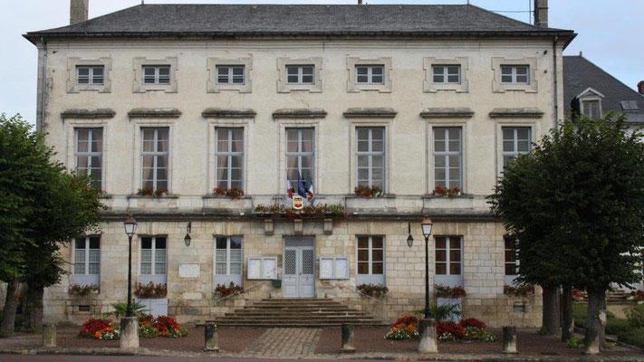 Château de l'évêque devenu mairie