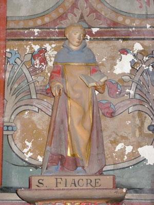 St Fiacre en l'église de St Julien les villas