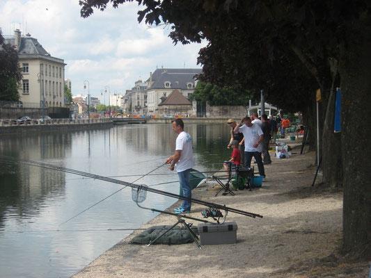 Journée de la pêche 2011 ( canal de la préfecture )
