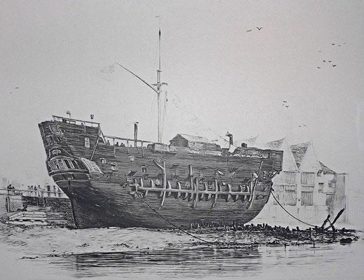 Ponton prison flottante