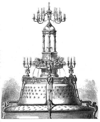 Fontaine jardinière Vienne 1873