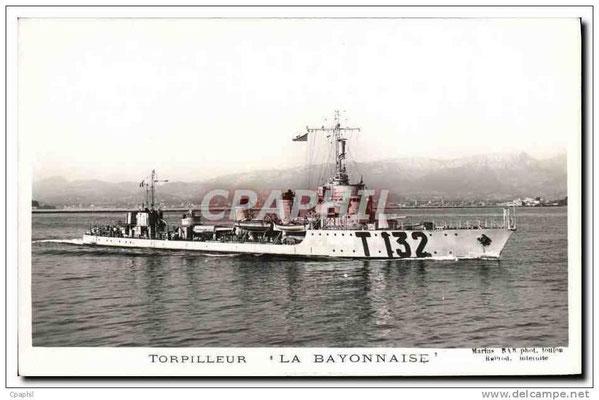 "Torpilleur ""La Bayonnaise"""