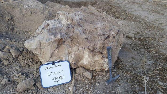 La plus grosse météorite de France