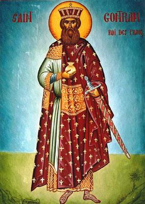Gontran, roi de Bourgogne