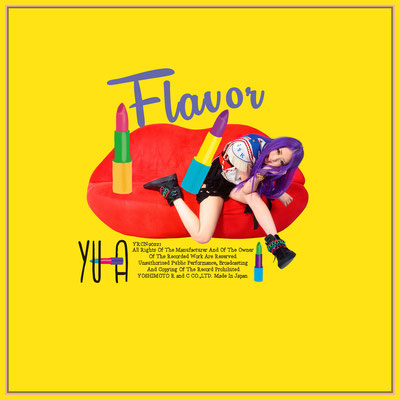 Flavor  YU-A CDジャケット YOSHIMOTO R and C CO.LTD