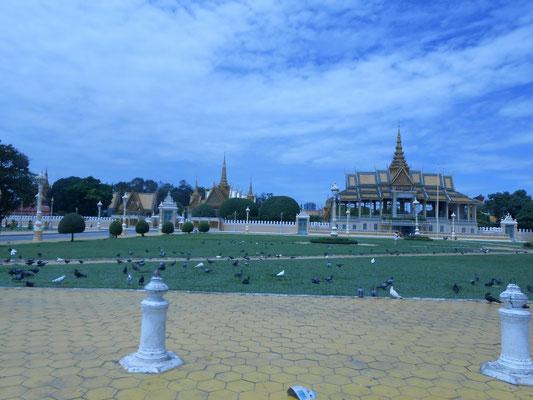 Der Royal Palace (sieht in echt viel hübscher aus) ©Fabi