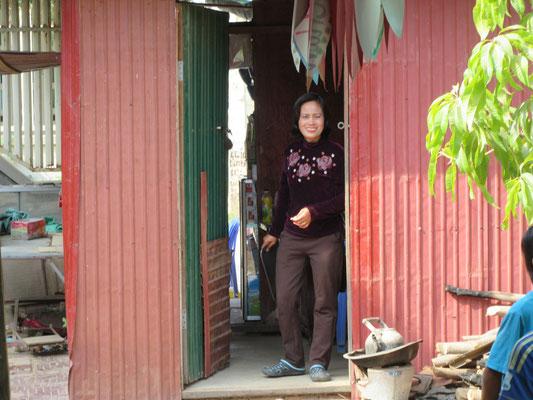 Mr Sameths Frau in ihre Shop