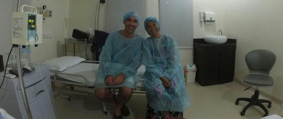Überraschungsbesuch von meinem Mentor André und seiner Frau
