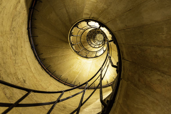 Stiegenhaus im Arc de Triomphe